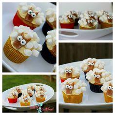sheep cupcakes how to