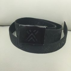 Armani exchange mens belt. Or uni-sex. I have an amazing, gently used cotton mens Armani belt. Please ask any questions if any! I would say it fits size S the best. Great condition. Happy Poshing! Armani Exchange Accessories Belts