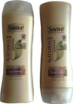 Suave Professionals Awapuhi Ginger Honeysuckle Anti-Breakage Shampoo Conditioner