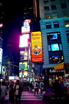 Bubba Gump On Broadway