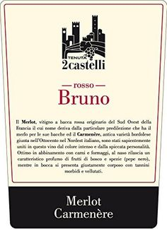 Rosso Bruno IGT Tenuta 2Castelli 750 ml ** Learn more by visiting the image link.