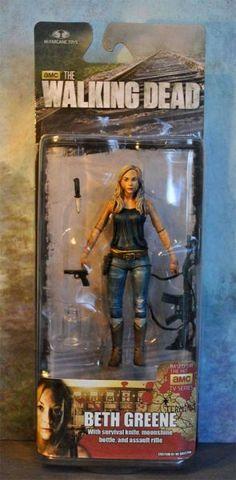 Walking Dead Beth | Beth Greene the Walking Dead Tv Series Custom Action Figure