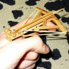 Just a tiny DIY crossbow!