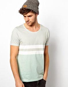 ASOS Stripe T-Shirt With Scoop Neck