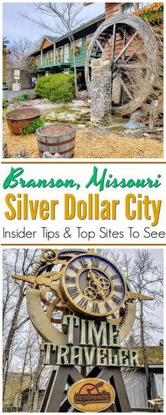 Silver Dollar City in Branson MO - From the moment that you enter the park there is literally something awesome happening all around you all the time. From great rides to the delicious food entertainment and cave exploring there is something for ev Branson Vacation, Top Site, Silver Dollar City, Branson Missouri, Us Travel Destinations, Romantic Getaway, Travel Around The World, Vacation Spots, Travel Usa