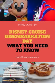 Disney Cruise Disembarkation is not a subject that any of us really wants to think about but we all need to know. Here are some great Disney Cruise Tips to help you make the most of your Disney Cruise Disembarkation Day. Disney Cruise Europe, Disney Wonder Cruise, Disney Fantasy Cruise, Disney Dream Cruise, Disney Cruise Ships, Cruise Travel, Cruise Vacation, Vacation Destinations, Cruise Packing Tips