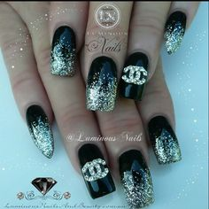 ριηтεяεsт: ☆QWE3NB / βrιттany☆ Chanel nailz