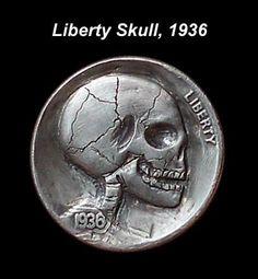Adam Leech - Liberty Skull, 1936