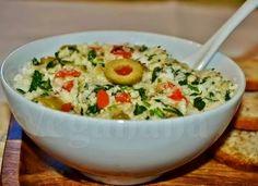 Pastinha de Azeitonas Verdes ~ Veganana