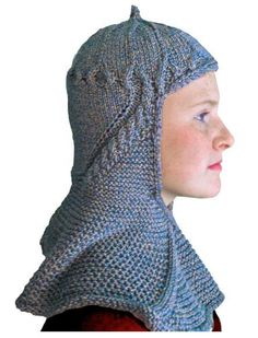 Looking for your next project? You're going to love Black Prince Hood by designer modeknit.