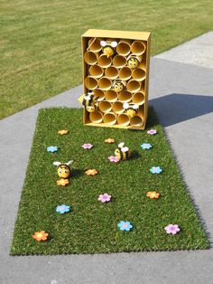 sweet idea for learning about bees through play