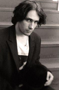 cinthiacardenasv:Jeff Buckley behind the Roxy. Sunset Strip. Photo: Stephen Stickler [x]