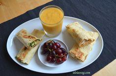Ideia: Wraps para o lanche #receita #vegana #vegetariana #vegan #vegetarianismo #veganismo