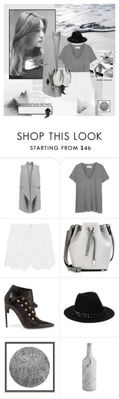 """Deep sensitivity to the beauty of art.."" by rainie-minnie ❤ liked on Polyvore featuring Vince, The Great, M.i.h Jeans, Michael Kors, Brian Atwood, Karl Lagerfeld and Wendover Art Group"