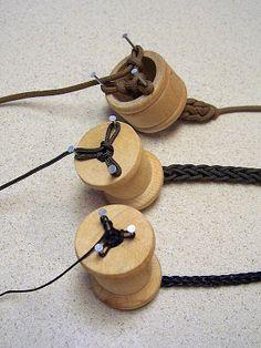 Stormdrane's Blog: Knitting Spools