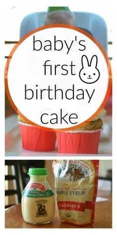 Recipe Babys First Healthy Cake Recipe Birthday cakes Cream