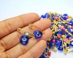 Evil eye safety pins | Etsy AU