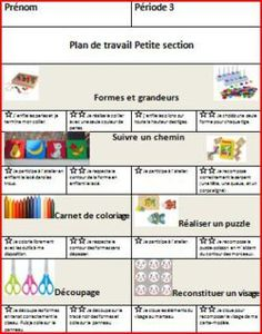 Plan de travail PS Petite Section, Math Classroom Decorations, Autism Education, Teachers Corner, Kindergarten Lesson Plans, Elementary Math, Math Lessons, Classroom Management, Planer