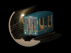 Animation for Moscow Subway 81th Anniversary