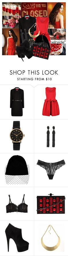 """And I will stumble and fall. I'm still learning to love just starting to crawl. Say something, I'm giving up on you."" by ithinkinblack ❤ liked on Polyvore featuring Marc by Marc Jacobs, Oscar de la Renta, Jil Sander, Elle Macpherson Intimates, Jason Wu and Giuseppe Zanotti"