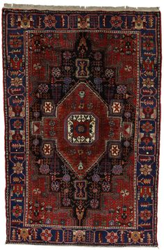 Nahavand - Hamadan Persian Carpet 202x130