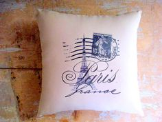 Paris Inspiration: Country French, French Cottage, Blue and White (etsy.com, @parismarketplace)