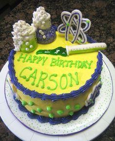 Nuclear chemistry cake