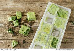 Frozen herbs |  Photographer: @Christine Ballisty Meintjes  | Recipe & Styling : Petro Meintjes