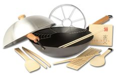 Joyce Chen 22-9938, Pro Chef 14 Inch 10 Piece Excalibur Non-Stick Wok Set >>> Learn more by visiting the image link. (This is an Amazon affiliate link)