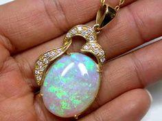 CRYSTAL OPAL GREEN FIRE FLASH WITH INCLUSIONS 18K GOLD PENDANT SCO1133 opal jewellery australian opal