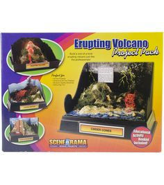 Project Pack-Erupting Volcano