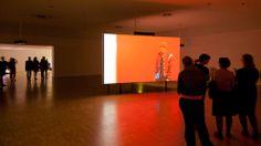 Video installation of Julia Stoschek at Art Cologne (international art fair)