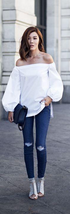 Bare Shoulders / Fashion By Tsangtastic