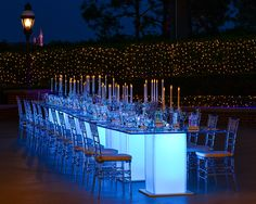 Imagine having a #glass #slipper themed wedding dinner! #enchanting #dinner #wedding #reception #fairytale #disney #ideas