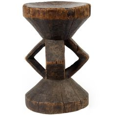Carved African Tonga 'Chigaro' Stool | From a unique collection of antique and modern stools at https://www.1stdibs.com/furniture/seating/stools/