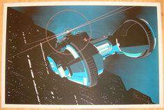 """2013 """"Blade Runner"""" - Silkscreen Art Print by Craig Drake"""