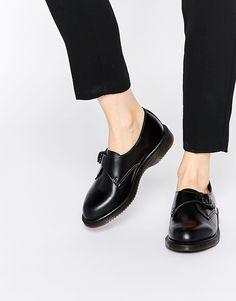Image 1 of Dr Martens Lorne Monk Strap Flat Shoes