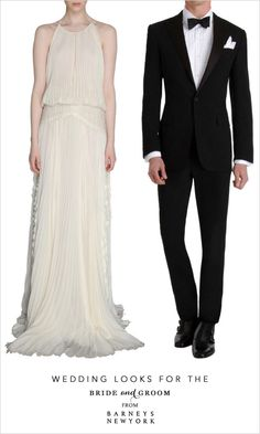 #BarneysNYbridal Can't go wrong with this sleek tux for ur man on that special day