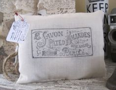 NEW petite french market savon paris lavender by OkioBDesigns, $7.00