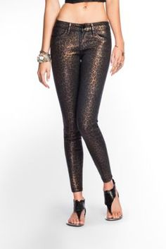guess cheetah denim #musthave