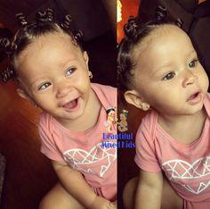 Nevaeh - 1 Year • Black (Jamaican) & Hispanic (Colombian) ❤