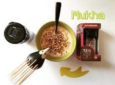 """""""Ya casi es Viernes . Asi que lo celebramos desde el desayuno de hoy agregándole #mukha para hacerlo mucho más divertido y delicioso.  Recuerda que mukha…"""""""