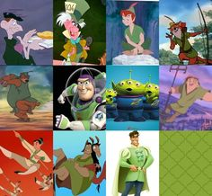 Disney Bound Color Cheat Sheet: Green #1