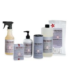 Mrs. Meyer's® Clean Day Aromatherapeutic Lavender Cleaning Products - BedBathandBeyond.com