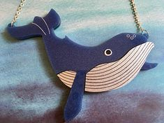 Your place to buy and sell all things handmade Beach Friends, Blue Back, Laser Cut Acrylic, Acrylic Sheets, Humpback Whale, Dear Santa, Statement Jewelry, Laser Cutting, Print Patterns