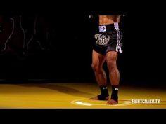 Muay Thai Basic Stance and Movement: instructional - YouTube
