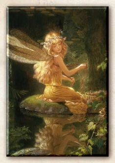 Goddesses of Avalon: Water Fairy (Kinuko Craft)