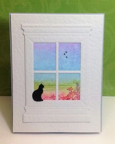 Marianne's cards 'n stuff: Enjoy the view