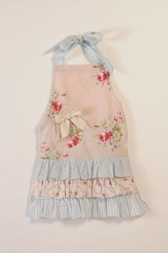 spring aprons | Child's Spring Posy Apron
