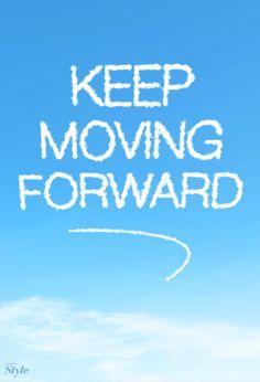"""""""…keep moving forward…"""" - Walt Disney  Illustration by Disney Style"""